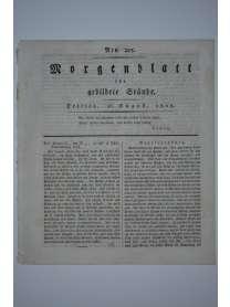 Morgenblatt für gebildete Stände - Nr. 205 - 26. August 1808
