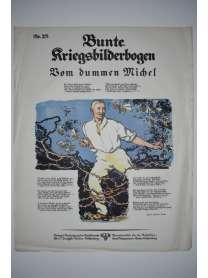 Bunte Kriegsbilderbogen - Vom dummen Michel - Nr. 28 - 1915