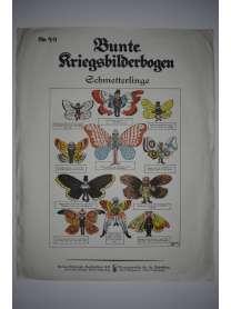 Bunte Kriegsbilderbogen - Schmetterlinge - Nr. 49 - 1915
