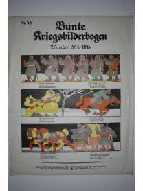 Bunte Kriegsbilderbogen - Winter 1914/1915 - Nr. 45 - 1915
