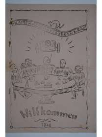 Bierzeitung - Erinnerungsschrift - Kameradschaftsabend - 1940