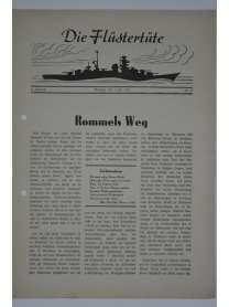 """Die Flüstertüte - Nr. 47 - 1. Juli 1942 - Bordzeitung Kreuzer """"Admiral Hipper"""""""