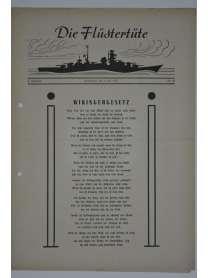 """Die Flüstertüte - Nr. 48 - 4. Juli 1942 - Bordzeitung Kreuzer """"Admiral Hipper"""""""