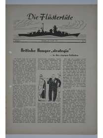 """Die Flüstertüte - Nr. 52 - 15. Juli 1942 - Bordzeitung Kreuzer """"Admiral Hipper"""""""