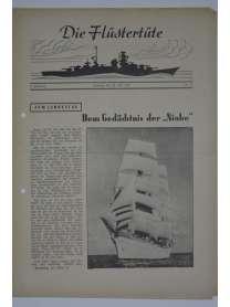 """Die Flüstertüte - Nr. 54 - 26. Juli 1942 - Bordzeitung Kreuzer """"Admiral Hipper"""""""
