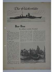 """Die Flüstertüte - Nr. 55 - 30. Juli 1942 - Bordzeitung Kreuzer """"Admiral Hipper"""""""