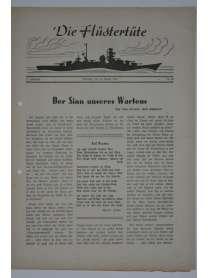 """Die Flüstertüte - Nr. 58 - 12. August 1942 - Bordzeitung Kreuzer """"Admiral Hipper"""""""