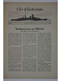 """Die Flüstertüte - Nr. 62 - 30. August 1942 - Bordzeitung Kreuzer """"Admiral Hipper"""""""
