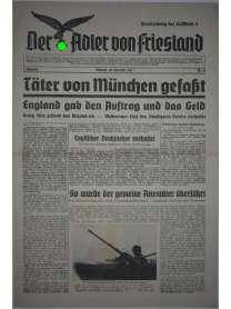 Der Adler von Friesland - Frontzeitung der Luftflotte 2 - Nr. 68 - 22. November 1939