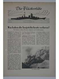 """Die Flüstertüte - Nr. 66 - 13. September 1942 - Bordzeitung Kreuzer """"Admiral Hipper"""""""