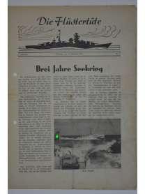 """Die Flüstertüte - Nr. 67 - 16. September 1942 - Bordzeitung Kreuzer """"Admiral Hipper"""""""
