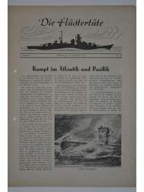 """Die Flüstertüte - Nr. 69 - 23. September 1942 - Bordzeitung Kreuzer """"Admiral Hipper"""""""