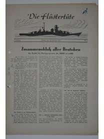 """Die Flüstertüte - Nr. 71 - 28. September 1942 - Bordzeitung Kreuzer """"Admiral Hipper"""""""