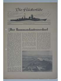 """Die Flüstertüte - Nr. 74 - 15. Oktober 1942 - Bordzeitung Kreuzer """"Admiral Hipper"""""""