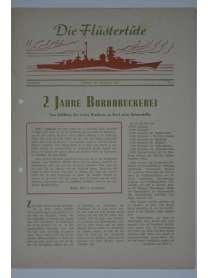 """Die Flüstertüte - Nr. 1 - 18. Oktober 1942 - Bordzeitung Kreuzer """"Admiral Hipper"""""""