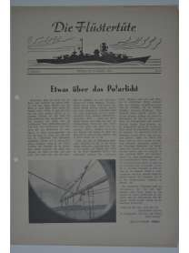 """Die Flüstertüte - Nr. 11 - 6. Dezember 1942 - Bordzeitung Kreuzer """"Admiral Hipper"""""""
