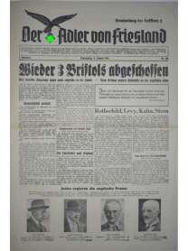 Der Adler von Friesland - Frontzeitung der Luftflotte 2 - Nr. 108 - 11. Januar 1940