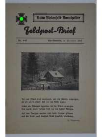 Feldpost-Brief - Bann Birkenfeld-Baumholder - Nr. 4 - Dezember 1943 - Kriegsweihnacht