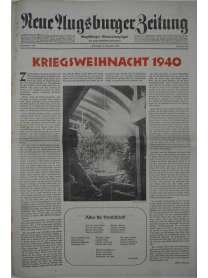 Neue Augsburger Zeitung - Nr. 302 - 24. Dezember 1940 - Kriegsweihnacht