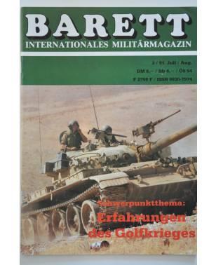 Barett Internationales Militärmagazin Heft 27 Juli / August 2 / 1991-20