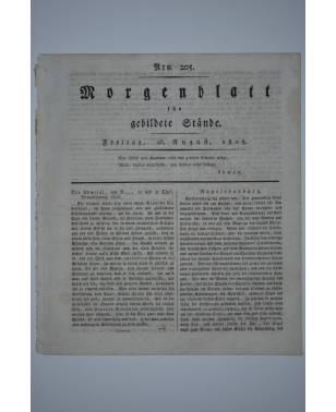 Morgenblatt für gebildete Stände Nr. 205 26. August 1808-20