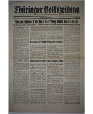 Thüringer Volkszeitung Nr. 7 7. August 1945-20