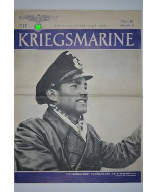 Die Kriegsmarine Heft 8 April 1944 Ausgabe S-20