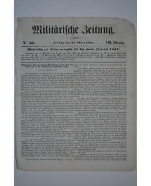 Militärische Zeitung Nr. 37 27. März 1855-20