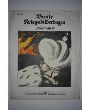 Bunte Kriegsbilderbogen Väterchen Nr. 15 1915-20