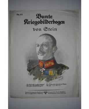 Bunte Kriegsbilderbogen von Stein Nr. 19 1915-20