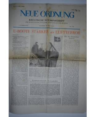 Neue Ordnung Kroatische Wochenschrift Nr. 93 16. Mai 1943-20
