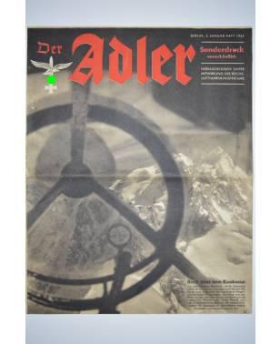 Der Adler 2. Januar-Heft 1943 Sonderdruck DZ 215-20