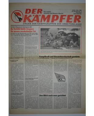 Der Kämpfer Organ der Kampfgruppen der Arbeiterklasse Nr. 3 März 1986-20