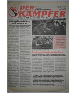 Der Kämpfer Organ der Kampfgruppen der Arbeiterklasse Nr. 2 Februar 1989-20