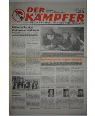 Der Kämpfer Organ der Kampfgruppen der Arbeiterklasse Nr. 7 Juli 1988-20