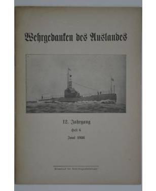 Wehrgedanken des Auslands Heft 6 Juni 1936-20