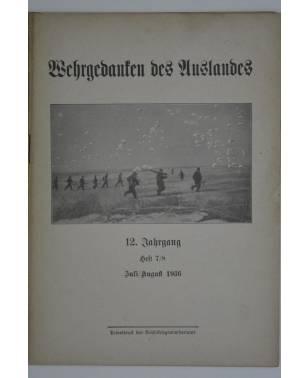 Wehrgedanken des Auslands Heft 7/8 Juli/August 1936-20