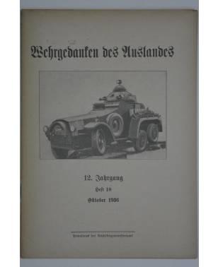 Wehrgedanken des Auslands Heft 10 Oktober 1936-20