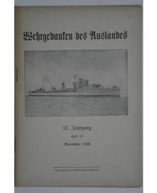 Wehrgedanken des Auslands Heft 11 November 1936-20
