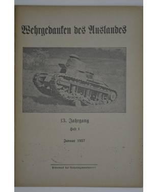 Wehrgedanken des Auslands Heft 1 Januar 1937-20