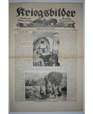 Kriegsbilder Nr. 47 18. November 1916 Deutsche Tageszeitung-20