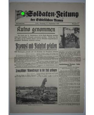 Soldaten-Zeitung der Schlesischen Armee Nr. 11 17. September 1939-20