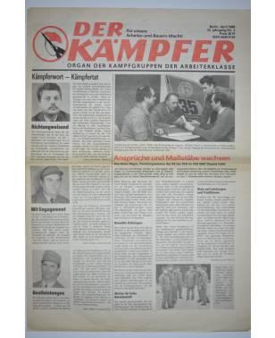 Der Kämpfer Organ der Kampfgruppen der Arbeiterklasse Nr. 4 April 1988-20