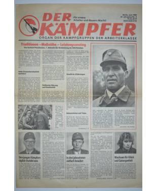 Der Kämpfer Organ der Kampfgruppen der Arbeiterklasse Nr. 6 Juni 1988-20