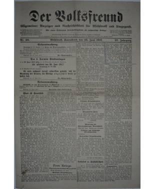 Der Volksfreund Nr. 50 23. Juni 1917-20