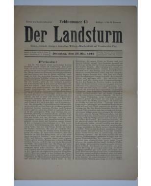 Der Landsturm Feldnummer 13 25. Mai 1915-20