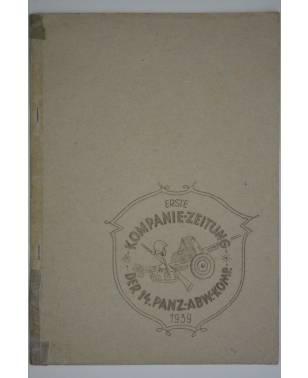 Bierzeitung Erinnerungsschrift Erste Kompanie-Zeitung der 14. Panzer-Abwehr-Kompanie 1939-20