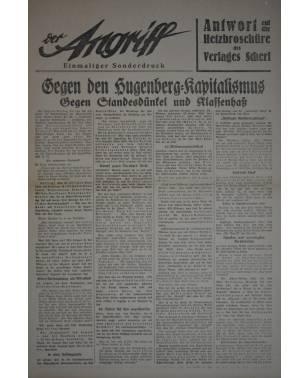 Der Angriff Einmaliger Sonderdruck 1932-20