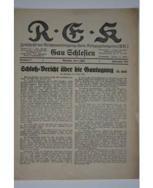R-E-K Gau Schlesien Nr. 7 1. Juli 1931-20