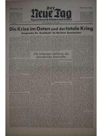 Der Neue Tag - Tageszeitung für Böhmen und Mähren - Nr. 50 - 19. Februar 1943
